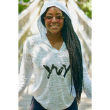 Women's YvY - You Vs Yourself Burnout Hoody