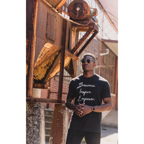 Men's VINTAGE Become. Inspire. Empower. T-Shirt