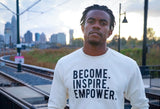 MODERN Become. Inspire. Empower. Crew Neck Fleece (Multiple Colors)