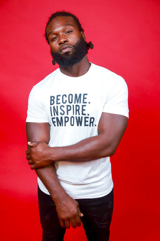 Men's MODERN Become. Inspire. Empower. T-Shirt