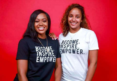 Women's MODERN Become. Inspire. Empower. T-Shirt