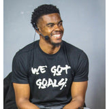 Men's We Got Goals + You Vs Yourself Fitted T-Shirt