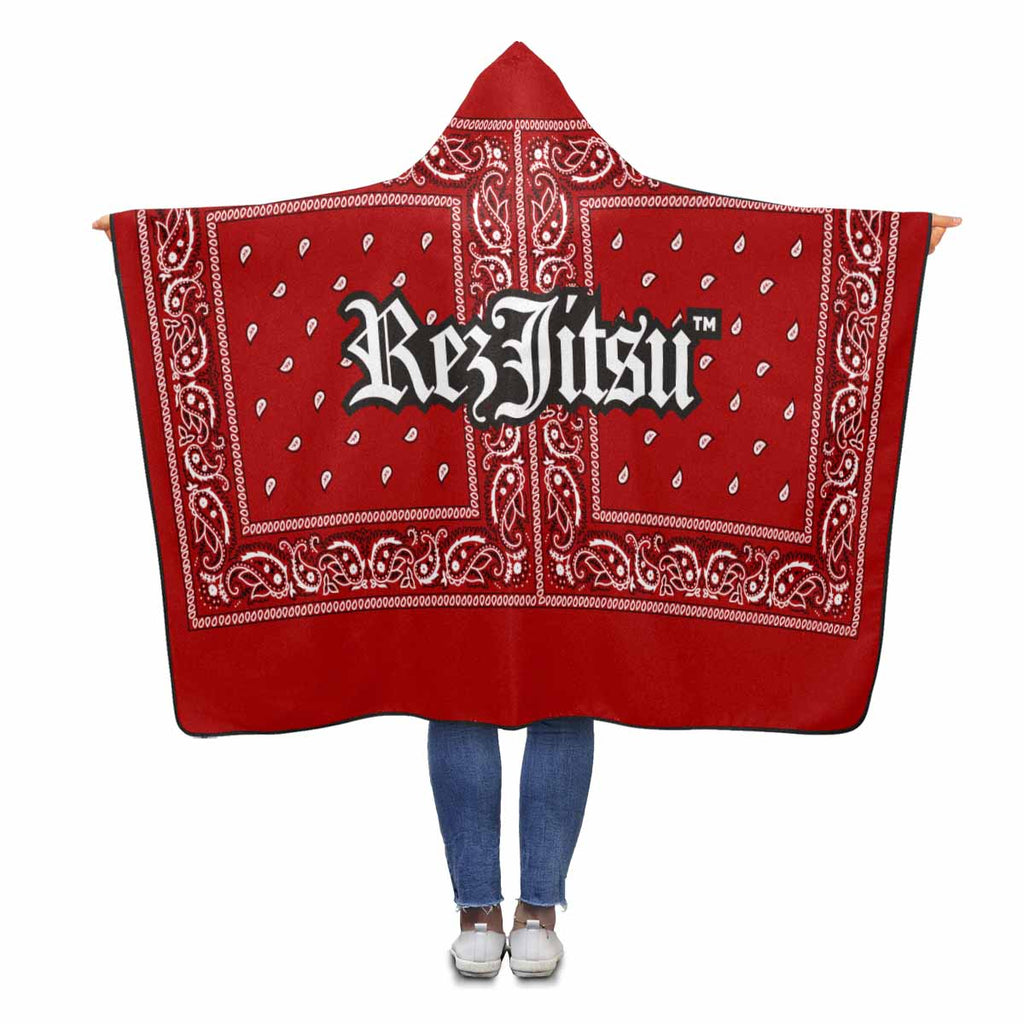 Rezjitsu Hooded Blanket Red
