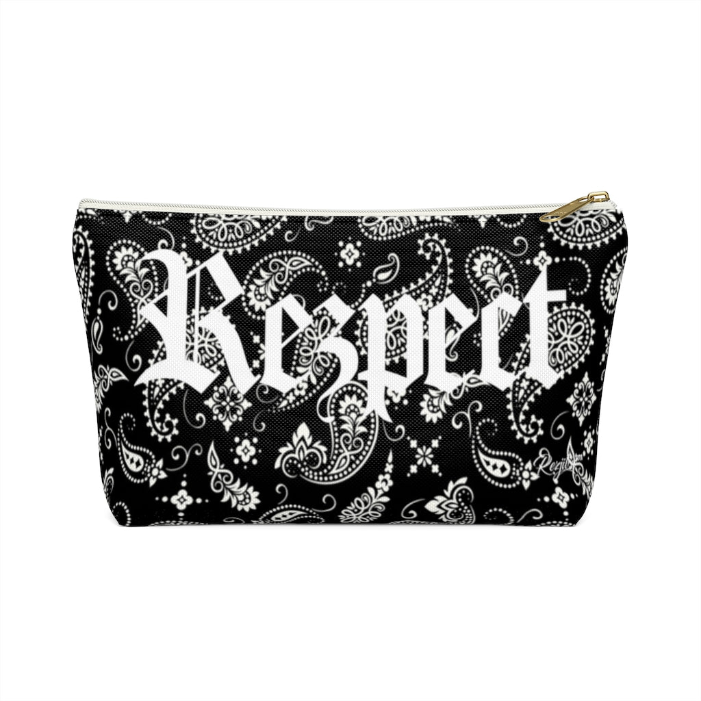 Rezpect Accessory Pouch w T-bottom