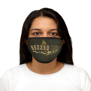 Rezzed Out Gold Face Mask