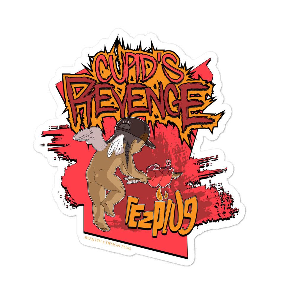 Cupid's Revenge Sticker