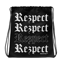 Rezpect 2019 Drawstring bag (Black)