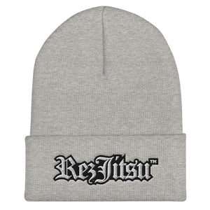 Rezjitsu Embroidered Cuffed Beanie