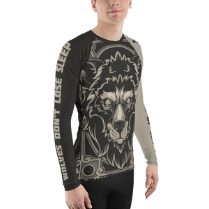 Run With The Wolves Rash Guard