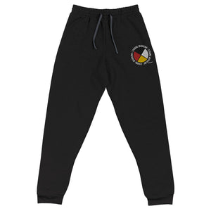 Strong Medicine Embroidered Medicine Wheel Joggers