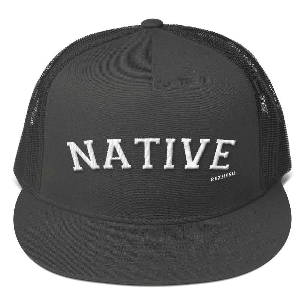 Native Varsity Mesh Back Snapback Hat