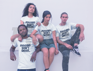 Jogging Don't Shoot - Nike Font Statement T-Shirt