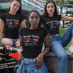 Stronger Together Indigenous & Black Solidarity Against Police Brutality T-Shirt