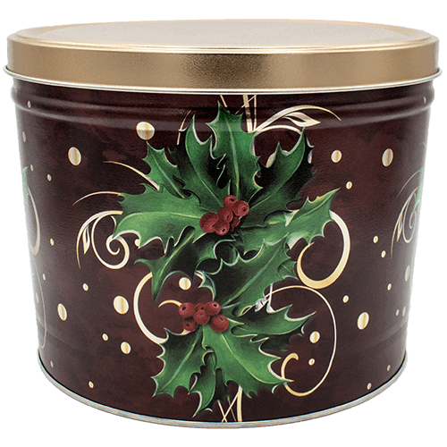 Boughs of Holly Tin 2 Gallon