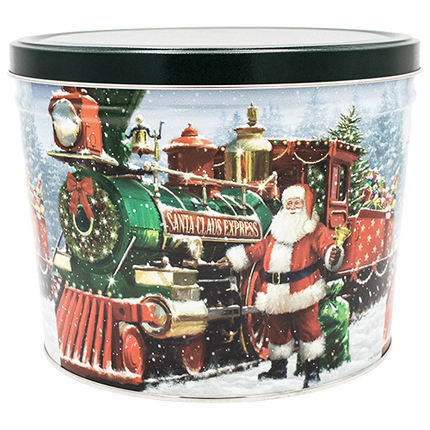 Santa Express Tin 2 Gallon