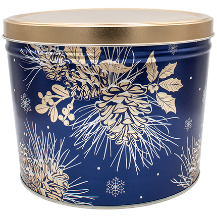 Winter Pine Tin 2 Gallon