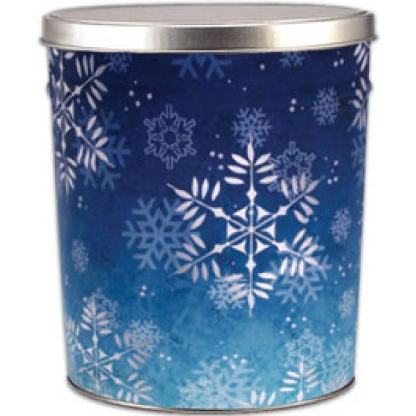 Snowflake Tin 3.5 Gallon