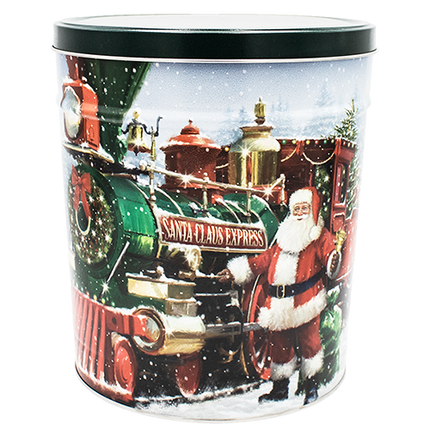 Santa Express Tin 3.5 Gallon