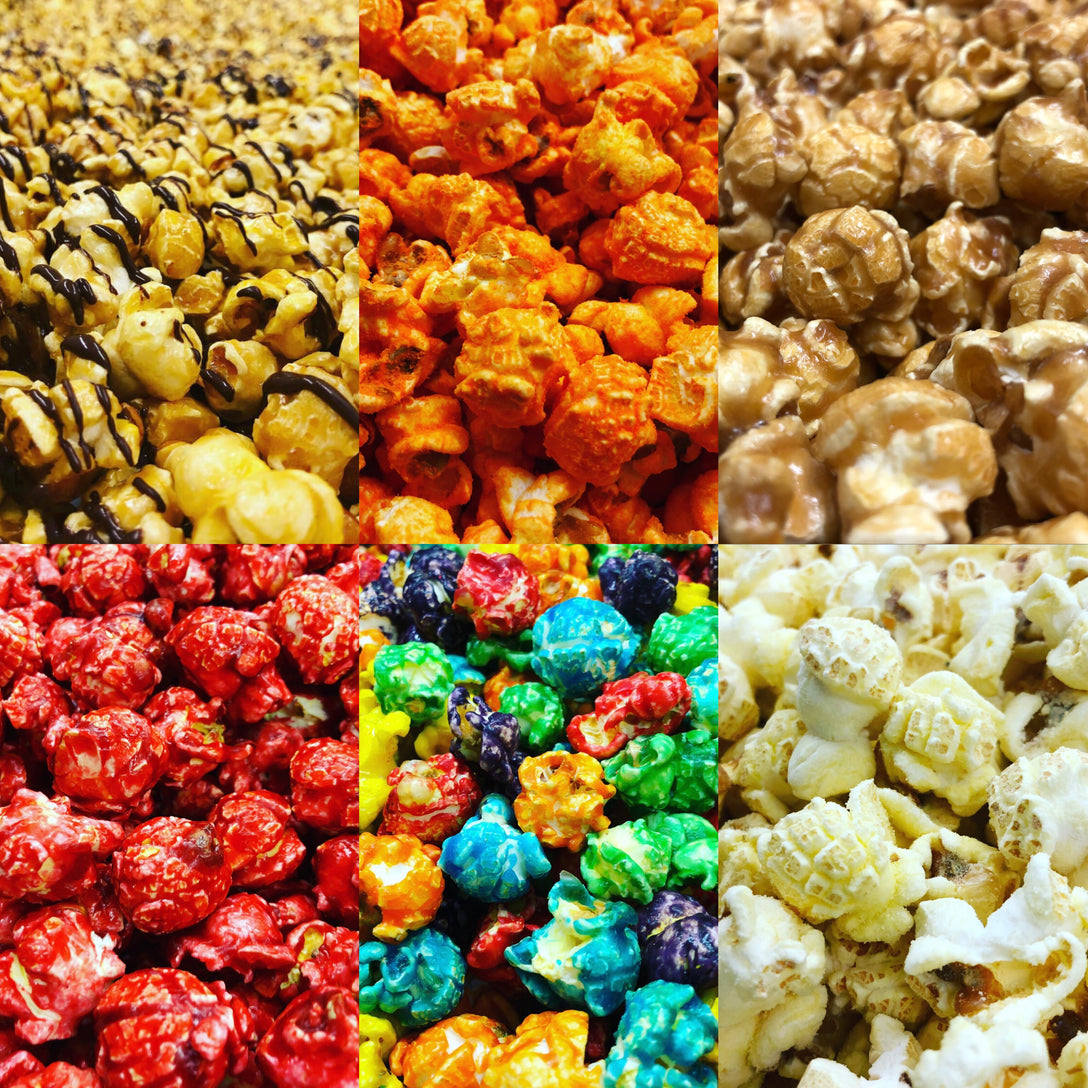 Image result for gourmet popcorn