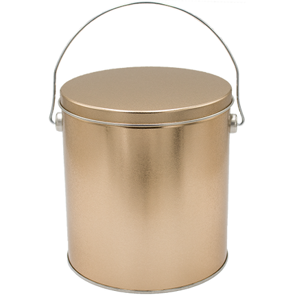 1 Gallon Gold Tin