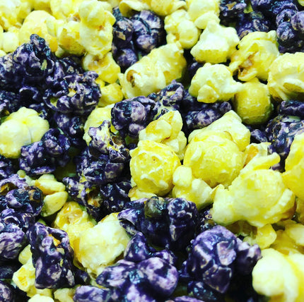 Blueberry Cheesecake Popcorn
