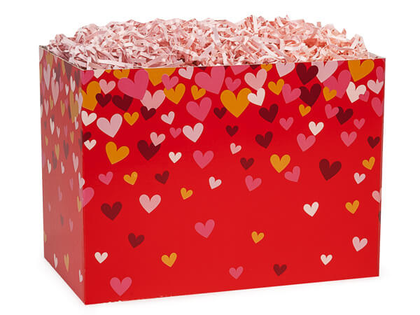Small Confetti Hearts Gift Box