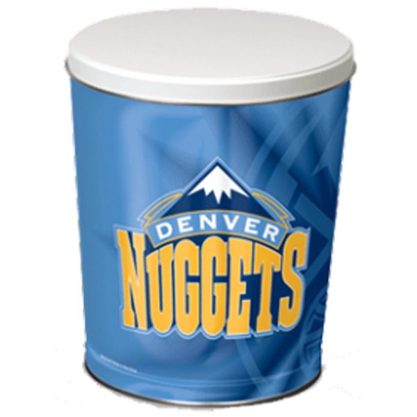Denver Nuggets Tin 3 Gallon