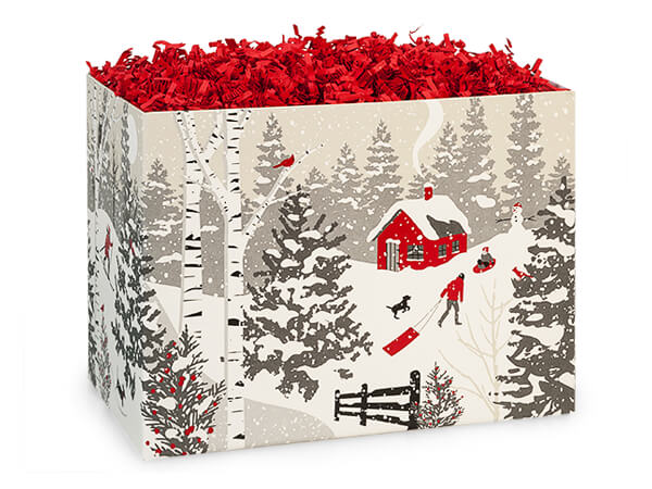 Small Winter Snowday Gift Box