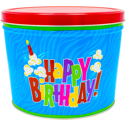 Birthday Pop! Tin 2 Gallon
