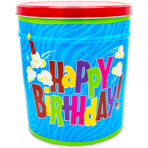 Birthday Pop! Tin 3.5 Gallon