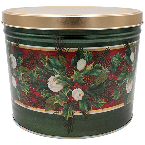Christmas Bouquet Tin 2 Gallon