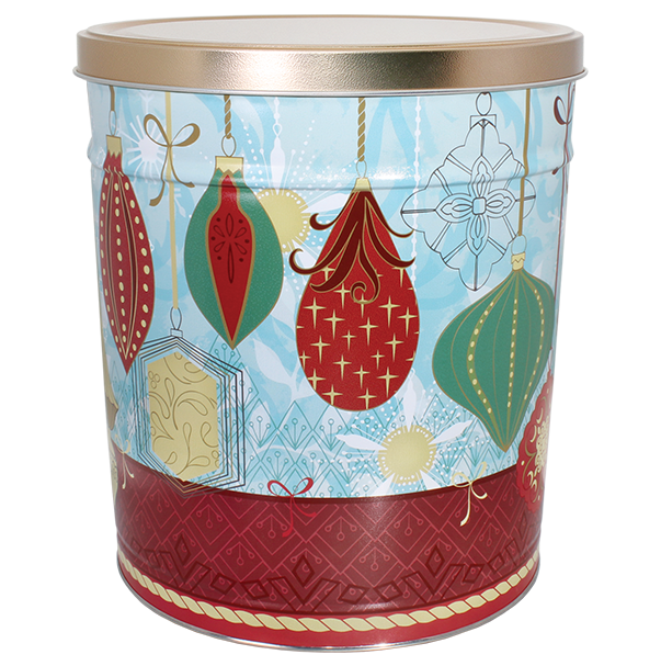 Contemporary Ornaments Tin 6.5 Gallon