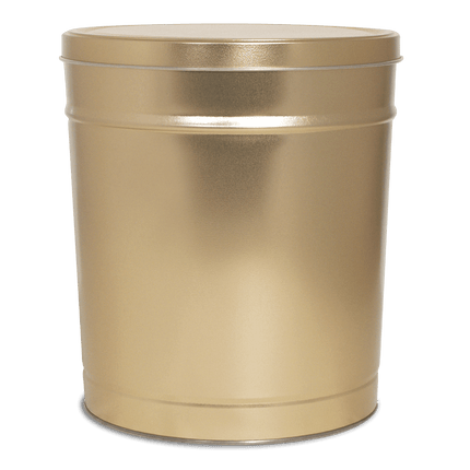Gold Tin 6.5 Gallon