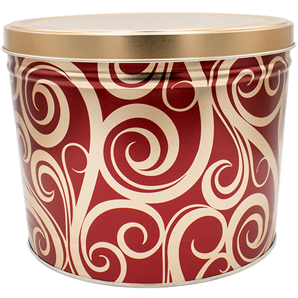 Golden Swirls Tin 2 Gallon