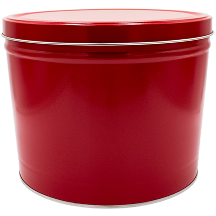 Red Tin 2 Gallon