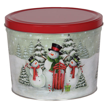 Snow Family Tin 2 Gallon