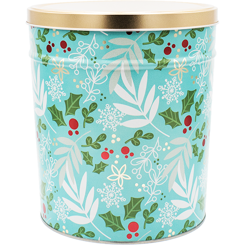 Winter's Charm Tin 6.5 Gallon