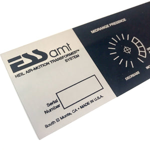 AMT 1 Replacement Plaque
