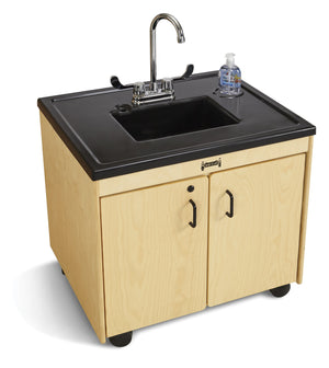 "Jonti-Craft Clean Hands Helper 26 "" Cold Water Only Portable Sink"