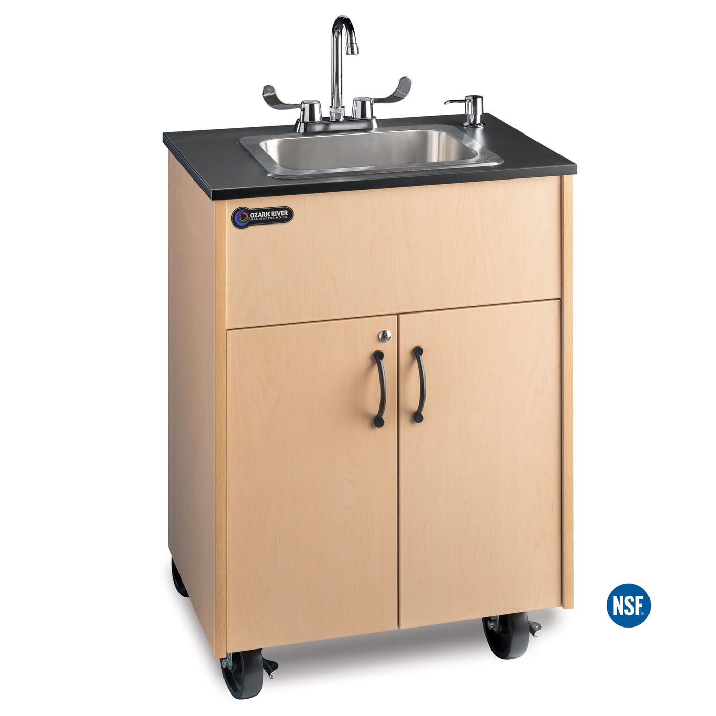 Premier Deep Basin Portable Sink With Laminate Top Ozark Adstm Lm Ss1dn All Portable Sinks
