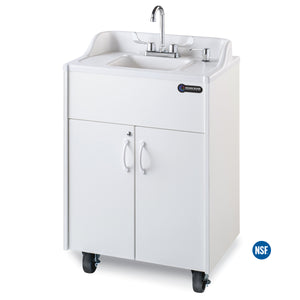 Ozark River Premier Series Portable Hot Water Sink  White ABS Basin