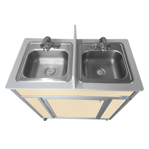 Monsam NSF Certified Double Basin Concession Portable Sink