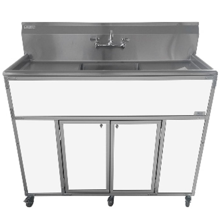 Monsam   Commercial Single Deeper  Basin Portable Sink