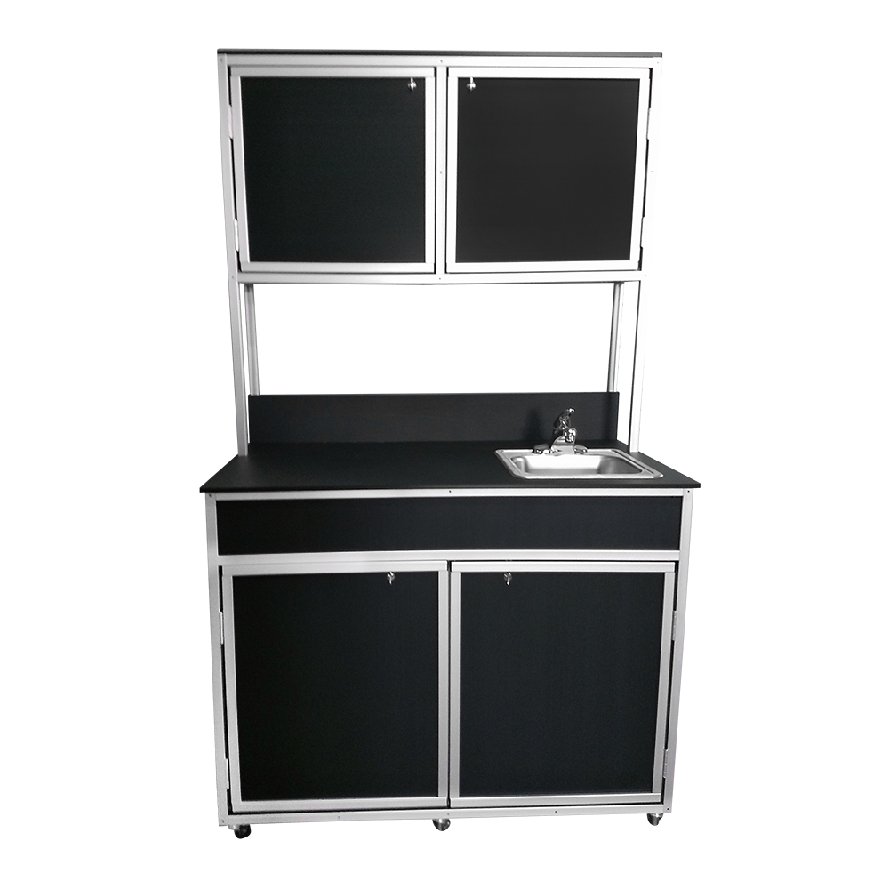 Medical Cabinet w/ Portable Sink -- Monsam