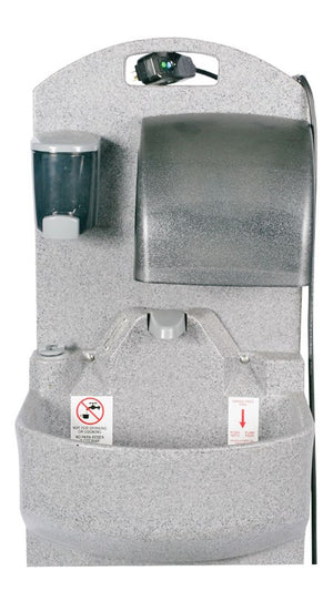 PolyJohn Heated GrandStand™ Warm Water Portable Sink