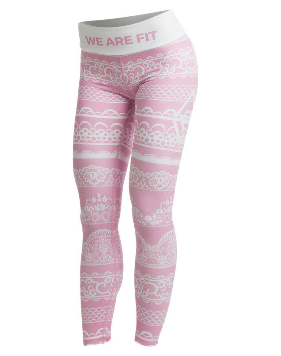 LACEUP PINK TIGHTS