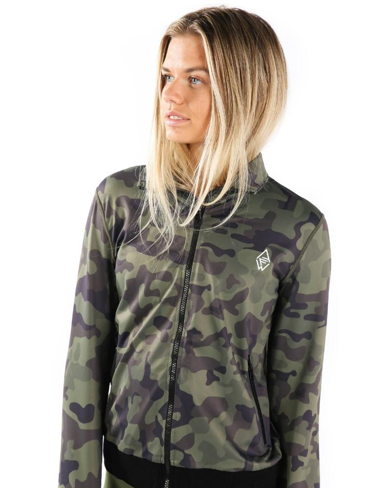 GREEN FURY JACKET