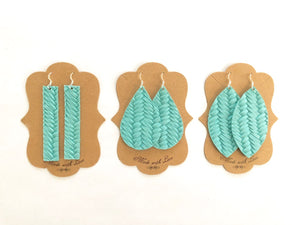 Woven Turquoise