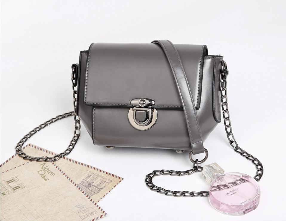 Vintage Style Crossbody Faux Leather  Bag - 5 Colours