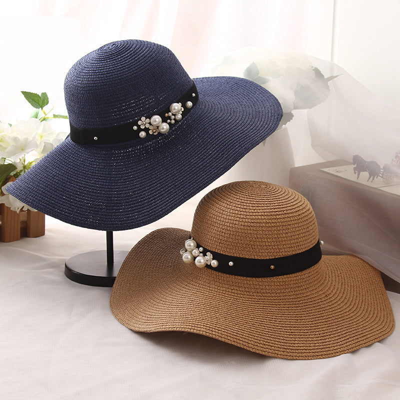 Summer Time Wide Brim Floppy Hat